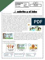 Fichas de Plan Lector Del 21 , 24 y 25 de Junio Completo