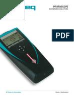 Profoscope_Operating Instructions_German_high