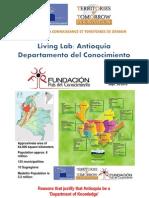 Living Lab Antioquia Depto del Conocimiento- Parlamento Europeo, Ingles