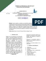 Caracteristicas Dinamicas, Estaticas y Patronaje de Sensores