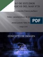 Caracteristicas de las imagenes.