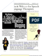 Social Media for Speech Pathologists_Handout_by GeekSLP