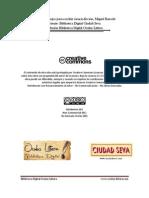 Consejos para escribir ciencia ficción - Miguel Barceló