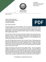 Leader Budish Letter to Speaker on SB 159