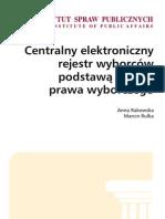Centralny rejestr elektroniczny