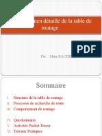 Ch8_Examen Détaillé de La Table de Routage