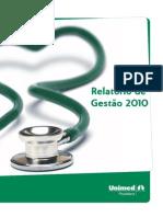 Relatório de Gestão 2010