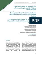 Valenzuela & Sibrian 2019 Lógicas del Trabajo Moral en Telemedicina
