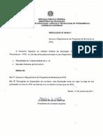 regulamento de monitoria ifpe 2011