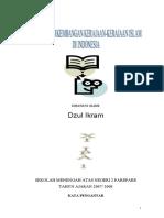 PERKEMBANGAN SEJARAH KERAJAAN ISLAM DI INDONESIA
