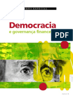 Democracia e Governança Financeira