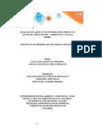 Anexo 1 - Plantilla Excel - Evaluación proyectos - Mermelada Papaya CORRECCION (1)