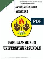 Soal Uts Semester II Fh Unpas