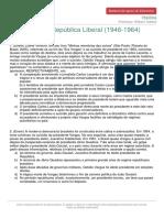 O regime liberal populista