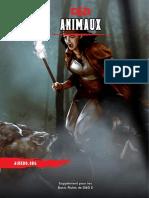 D&D 5 - AideDD.org - Animaux