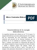 Micro Centrales Hidroelectricas