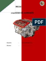 Proceso de Admision de Motor de combustión interna