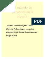 El Método de Proyectos en La Escuela