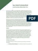 BuildingContinuityBook