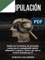 MANIPULACIÓN - FABIÁN GOLEMAN