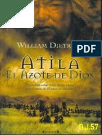 Atila El Azote de Dios-william Dietrich