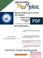 MUSCULO CARDIACO, GC, FC , CICLO CARDIACO