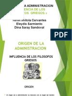 DIAPOSITIVAS  INFLUENCIA DE LOS FILOSOFOS 1