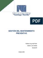 Luis Cardoza Gestion Del Mtto Prevent