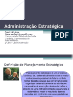 Introdução oa Planejamento Estratégico