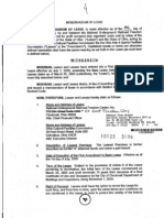 NURFC Memorandum of Lease (12-19-05)
