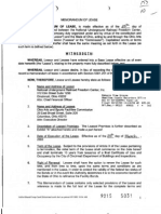 NURFC Memorandum of Lease (3-25-03)