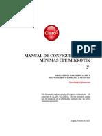 Configuracion de CPE Mikrotik Proyecto MinTic V4