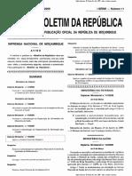 Diploma Ministerial 45-2009 de 18 de Maro - Estatuto Geral dos Hospitais