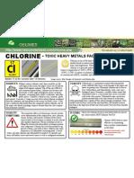Chlorine Toxic Heavy Metals Fact Sheet