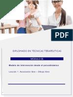 Tecnicas Del Modelo Psicoanalitico Clasico.