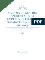 sistema de gestion ambiental ciledco