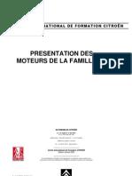 PRESENTATION DES MOTEURS DE LA FAMILLE DV ET INJECTIONS