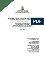 PROTOCOLO PARA OBTENER EL PLE 2011-03-03