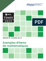 Timss 8 2019 4 Me Exemple d Items de Math Matiques 73335 (2)