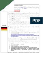 Conditiile de Calatorie in Republica Federala Germania