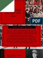 Красный Май» Или Май 1968 Года