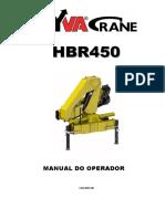 HYVA HB 450 - Manual do Operador