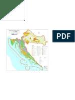 Geološka karta Hrvatske