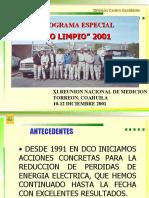 Ciclo Limpio DCO'2001