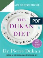 The Dukan Diet by Dr. Pierre Dukan - Excerpt