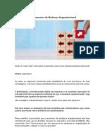 1 Fundamentos da Mudança Organizacional