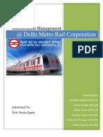 DMRC final report