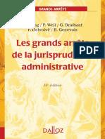 42- Les grands arrêts de la JP administrative