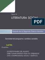 Literatura social ppt