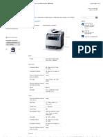Samsung - CLX-3160FN multifuncional laser colorida fax